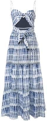Jonathan Simkhai tie-dye maxi dress