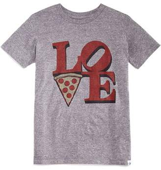 Kid Dangerous Boys' Pizza Love Graphic Tee - Little Kid, Big Kid