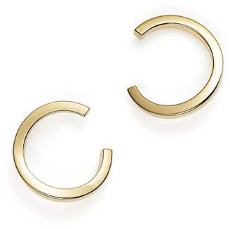 Bloomingdale's Small Square Tube Hoop Drop Earrings in 14K Yellow Gold - 100% Exclusive