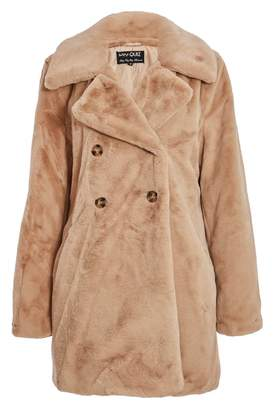 bcf03b61e9 at Quiz Clothing · Quiz Camel Double Breasted Teddy Bear Coat