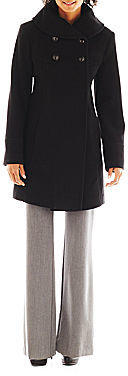 Collezione Faux-Angora and Wool-Blend Coat - Talls