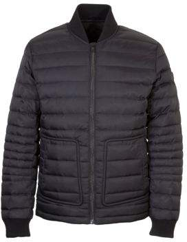 Orobos Long Sleeve Quilted Bomber Jacket