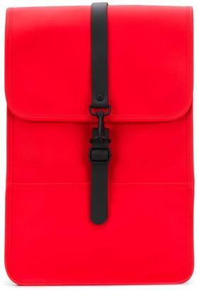 Rains matte waterproof backpack