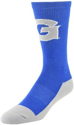 Women's Mojo Georgetown Hoyas Champ 1/2-Cushion Performance Crew Socks