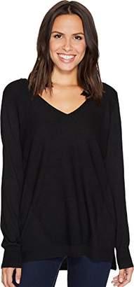 NYDJ Women's Double V-Neck Sweater