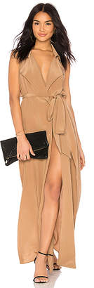 L'Agence Maya Wrap Dress