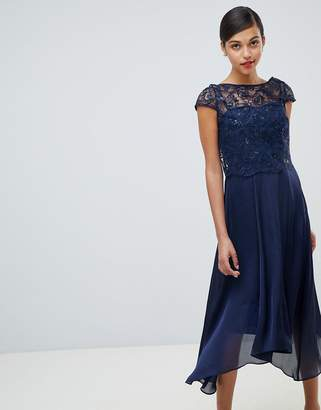Coast Jade Lace Midi Dress