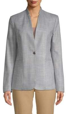 T Tahari Adara Single-Button Jacket