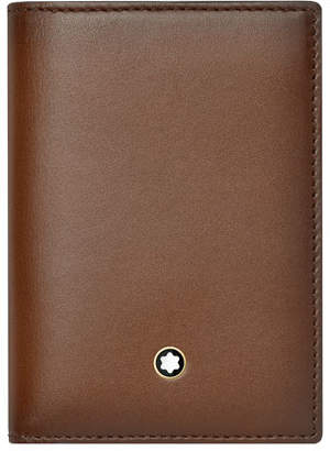 Montblanc Meisterstuck Sfumato Leather Business Card Holder, Brown