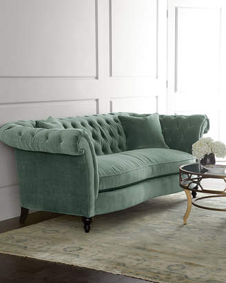 At Horchow Jadelyn Tufted Sofa 92
