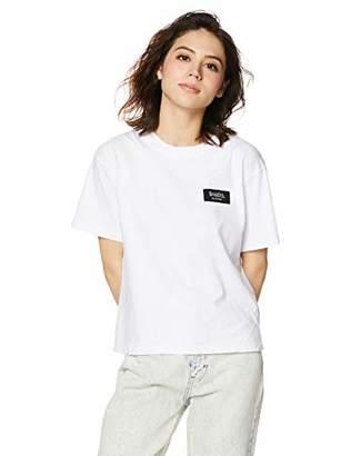 Snidel (スナイデル) - [スナイデル] ロゴテープTシャツ SWCT193316 レディース WHT 日本 F (FREE サイズ)