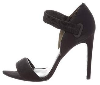 Alexander Wang Neoprene Ankle-Strap Sandals