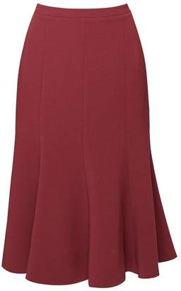 036617a7e Rumour London - Lucy Wool Midi Skirt In Berry