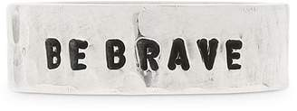 Fabio Corsini Be Brave Sterling Silver Ring