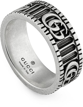 008c7fcf3 Gucci GG Marmont Men's Band Ring