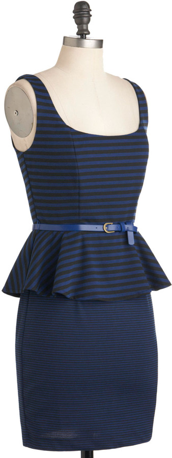 Change Your Stripes Dress