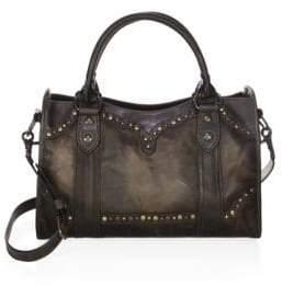 Frye Melissa Western Leather Satchel