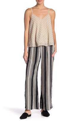 Angie Striped Tie Waist Pants