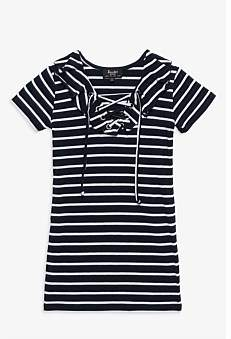 Bardot Junior Ruffle Stripe Dress