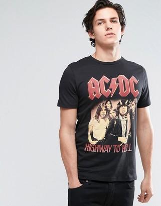 Jack & Jones Core ACDC T-Shirt $28 thestylecure.com