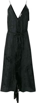 Forte Forte floral fringed dress