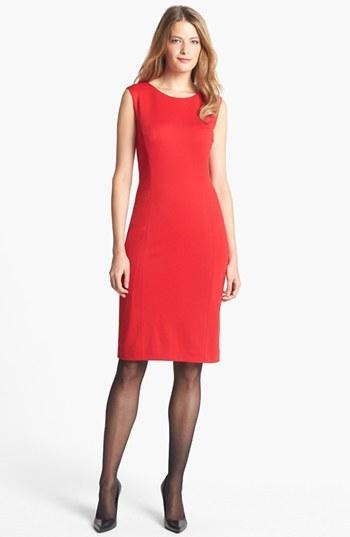 Jones New York 'Mallory' Ponte Sheath Dress