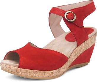 Dansko Women's Charlotte Sandal Size 37 EU (6.5-7 M US Women)
