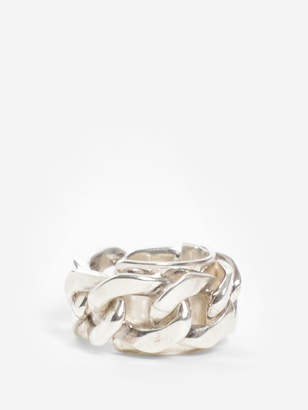 MEN'S SILVER CHAIN RING
