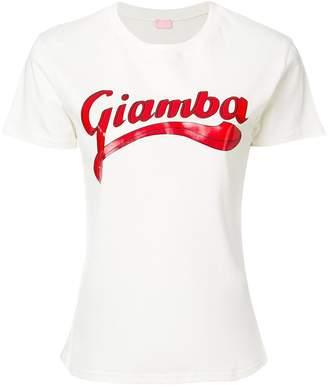 Giamba logo print T-shirt