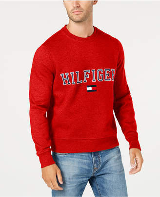Tommy Hilfiger Men Big & Tall Logo Sweatshirt