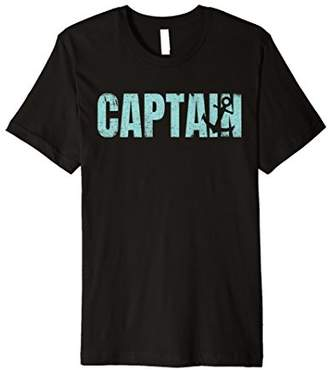 Captain Nautical Boating Sailing T-Shirt