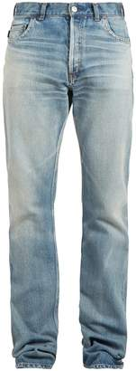 Balenciaga Distressed relaxed jeans
