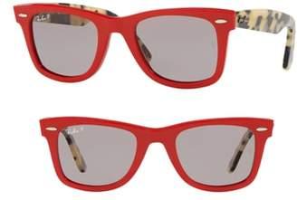 Ray-Ban Standard Classic Wayfarer 50mm Polarized Sunglasses