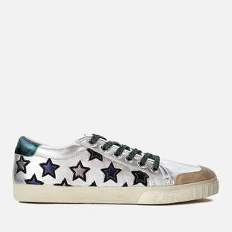 Ash Women's Majestic Leather Star Print Cupsole Trainers