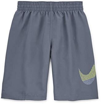 Nike Boys Logo Swim Trunks-Big Kid