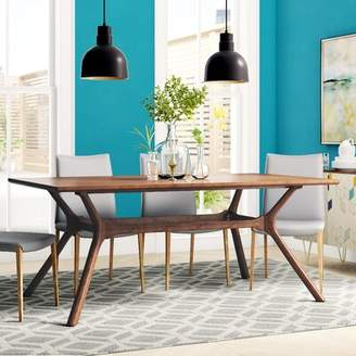 Modern Rustic Interiors Caro Trestle Dining Table Modern Rustic Interiors