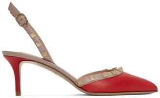 Valentino Red Garavani Rockstud Slingback Heels