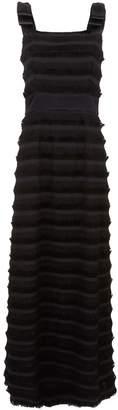 Goat Gertrude Frayed Stripe Dress