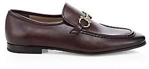 Salvatore Ferragamo Men's Anderson Gancini Bit Leather Loafers