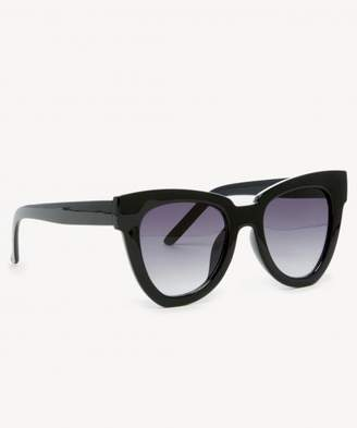 Sole Society Phip Oversize Cat Eye Sunglasses