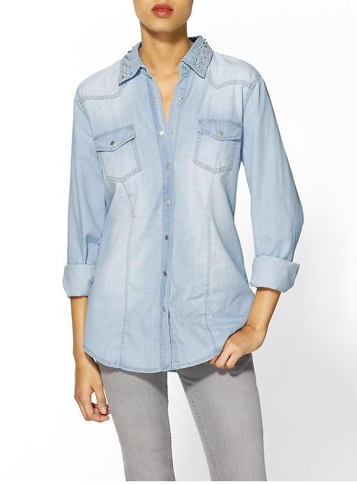 RD Style Studded Button Down