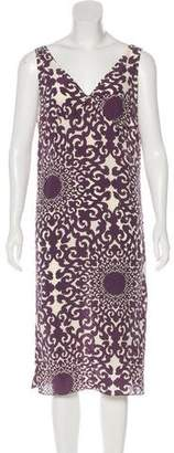 Chris Benz Silk Sleeveless Dress