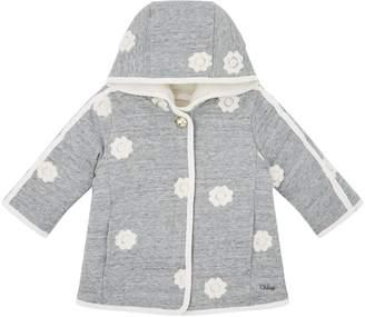 Chloé Floral Hooded Fleece Jacket