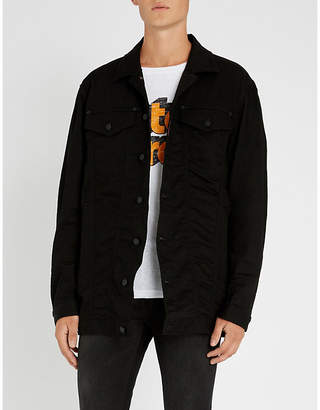 DSQUARED2 Be Cool Be Nice stretch-denim jacket