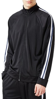 Men's Topman Panelled Track Jacket $65 thestylecure.com