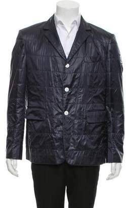 Moncler Gamme Bleu Lightweight Puffer Sport Coat