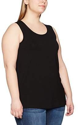 00ad311481b5d Ulla Popken Women s Plus Size Scoop Neck Stretch Jersey Tank Tee 24 26  666765 10