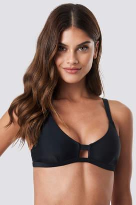 Na Kd Swimwear Front Strap Bikini Top Citrus