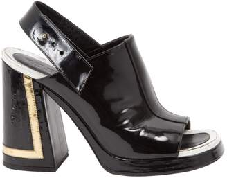 Kenzo Black Patent leather Sandals