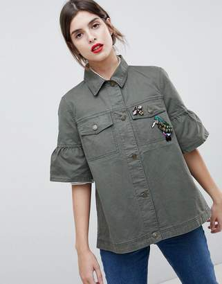 Esprit Utility Short Sleeved Jacket